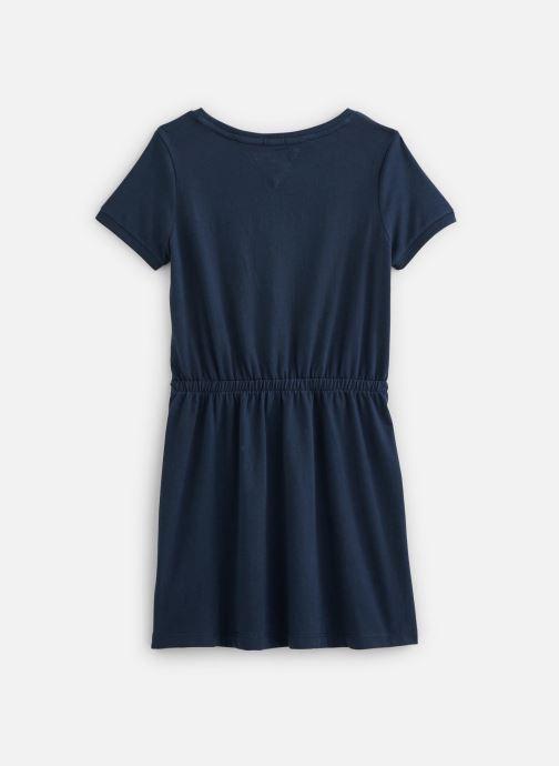 Vêtements Tommy Hilfiger Robe mini Jersey Tee Dress SS Bleu vue bas / vue portée sac