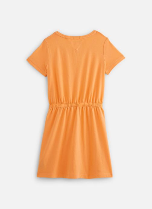 Vêtements Tommy Hilfiger Robe mini Jersey Tee Dress SS Orange vue bas / vue portée sac