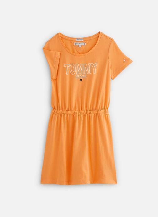 Vêtements Tommy Hilfiger Robe mini Jersey Tee Dress SS Orange vue détail/paire