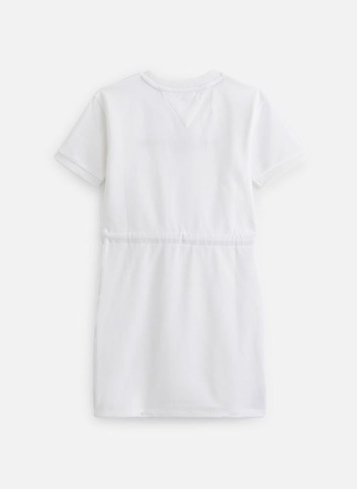 Vêtements Tommy Hilfiger Robe mini Essential Dress S/S Blanc vue bas / vue portée sac