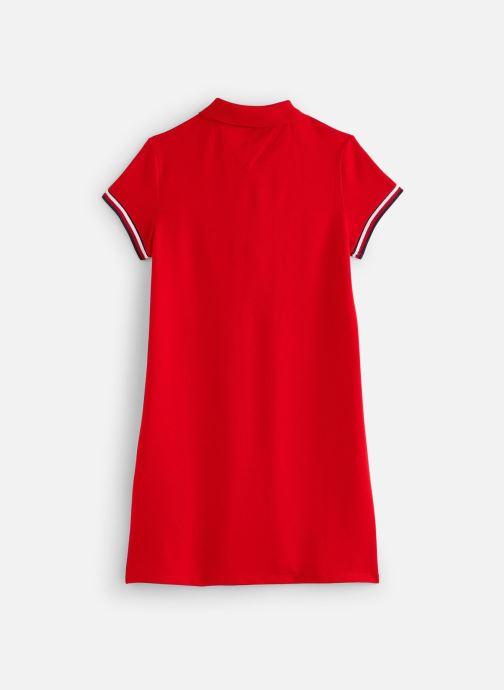 Tøj Tommy Hilfiger Robe mini Essential Polo Dress S/S Rød se forneden