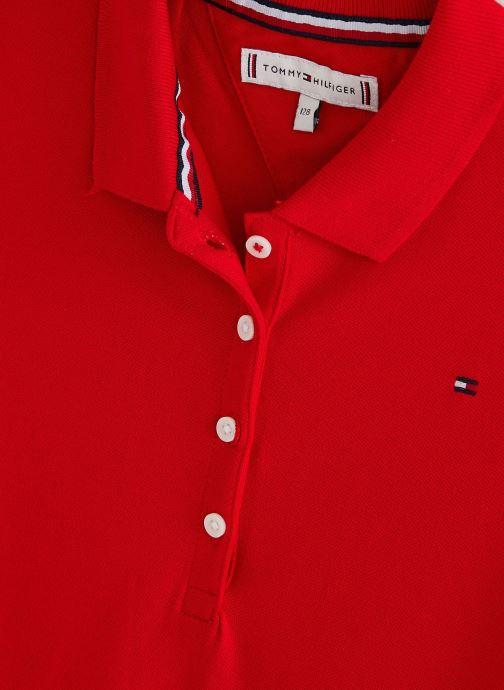 Tøj Tommy Hilfiger Robe mini Essential Polo Dress S/S Rød se skoene på