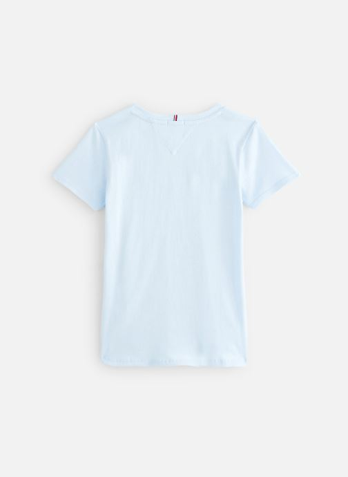 Tøj Tommy Hilfiger T-shirt Essential  Tee S/S Blå se forneden
