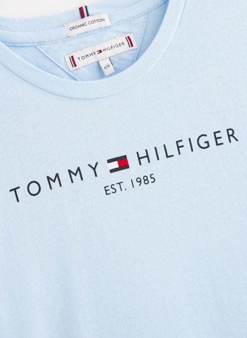 Tøj Tommy Hilfiger T-shirt Essential  Tee S/S Blå se skoene på