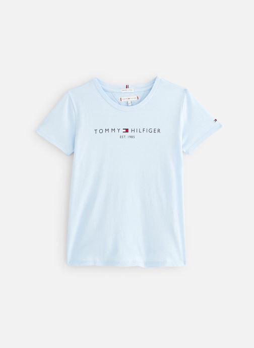 Tøj Tommy Hilfiger T-shirt Essential  Tee S/S Blå detaljeret billede af skoene
