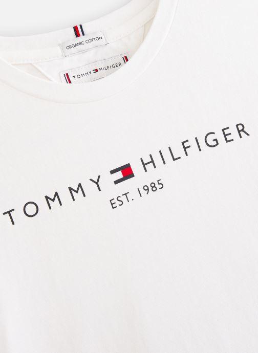 Tøj Tommy Hilfiger T-shirt Essential  Tee S/S Hvid se skoene på