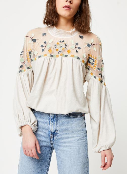 Vêtements Free People MONDAY MORNING TOP Beige vue détail/paire