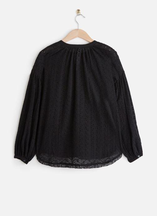 Vêtements Free People MADDISON EYELET BLOUSE Noir vue bas / vue portée sac