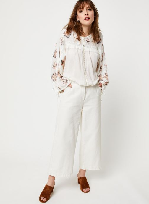 Vêtements Free People SWEET EMOTION TOP Blanc vue bas / vue portée sac