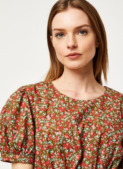 Vêtements Free People PENNIE MINI DRESS Vert vue face