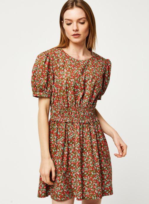 Vêtements Free People PENNIE MINI DRESS Vert vue droite