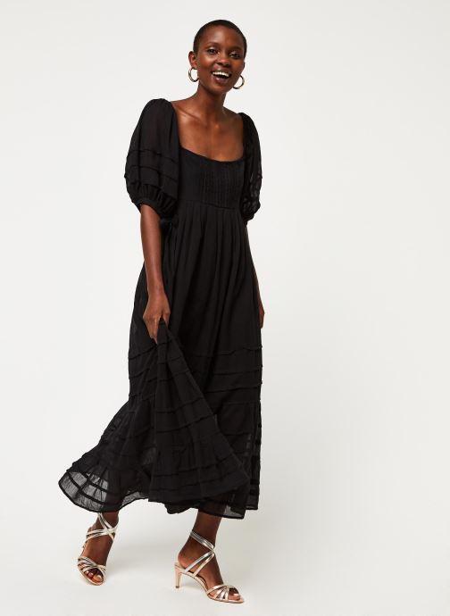 Vêtements Free People LETS BE FRIENDS MIDI DRESS Noir vue bas / vue portée sac