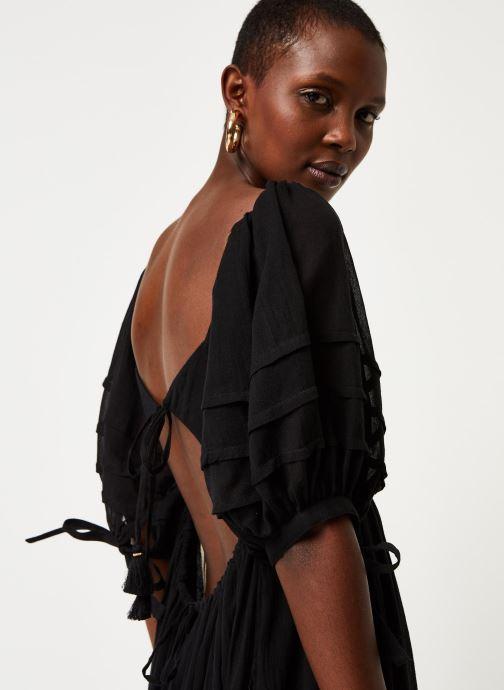 Vêtements Free People LETS BE FRIENDS MIDI DRESS Noir vue face