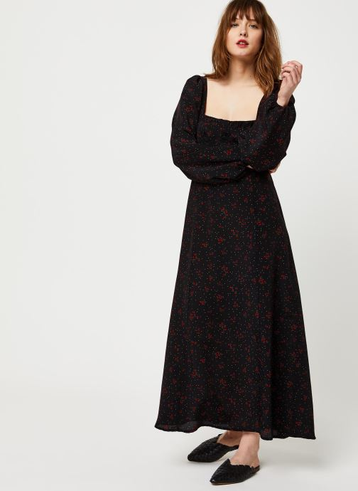 Vêtements Free People IRIS MIDI DRESS Noir vue bas / vue portée sac