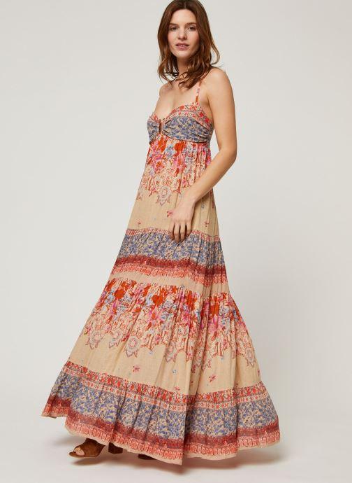 Vêtements Free People GIVE A LITTLE MAXI DRESS Multicolore vue bas / vue portée sac