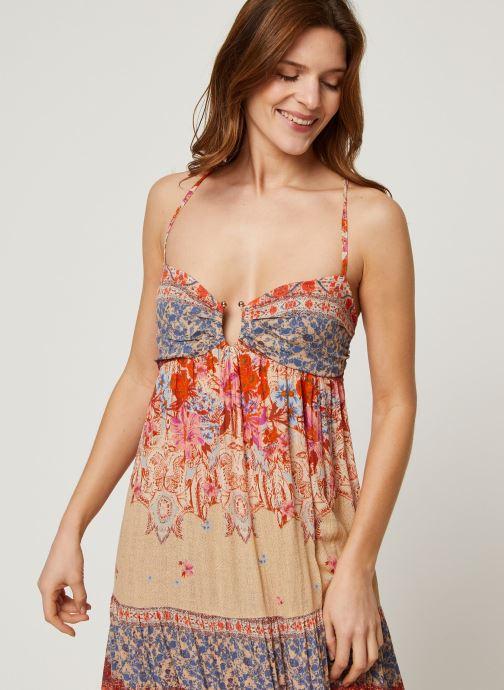 Vêtements Free People GIVE A LITTLE MAXI DRESS Multicolore vue droite