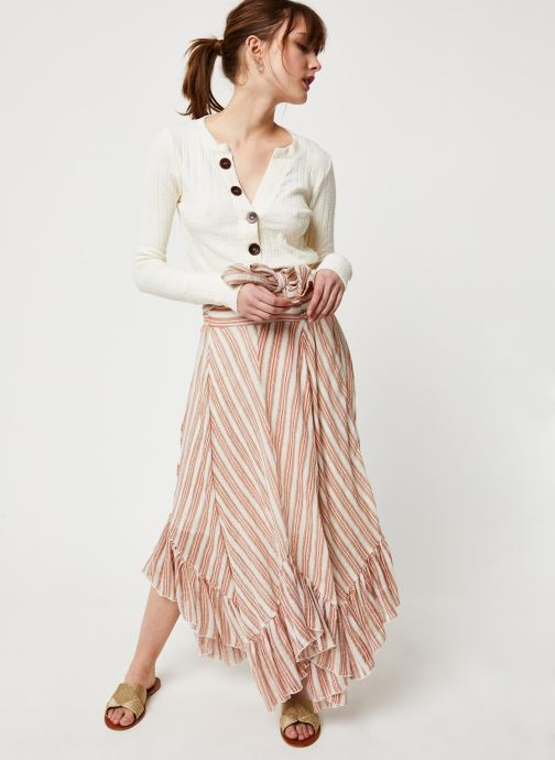 Free People Jupe maxi - Giselle Skirt (Marron) - Vêtements (416377)