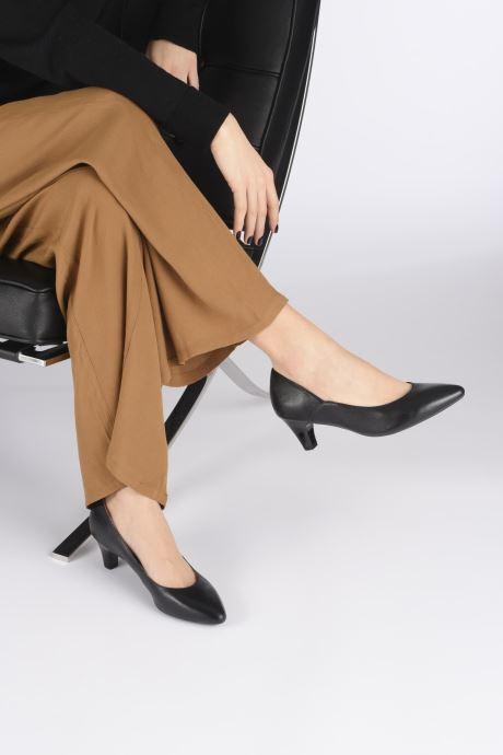 Zapatos de tacón Caprice Tao Negro vista de abajo