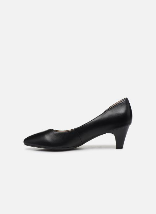 Zapatos de tacón Caprice Tao Negro vista de frente