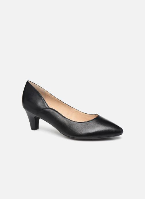 Zapatos de tacón Caprice Tao Negro vista de detalle / par
