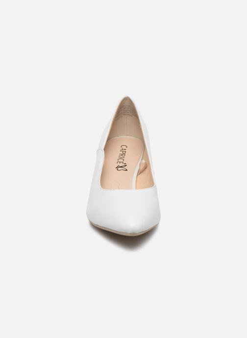 Escarpins Caprice Tao Blanc vue portées chaussures