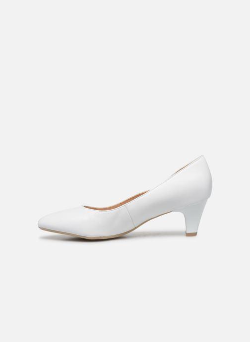 Zapatos de tacón Caprice Tao Blanco vista de frente