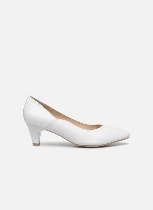 Zapatos de tacón Caprice Tao Blanco vistra trasera