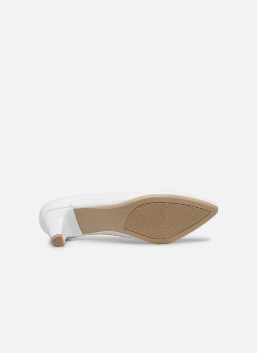 Zapatos de tacón Caprice Tao Blanco vista de arriba