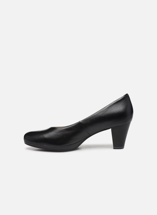 Zapatos de tacón Caprice Tanja Negro vista de frente