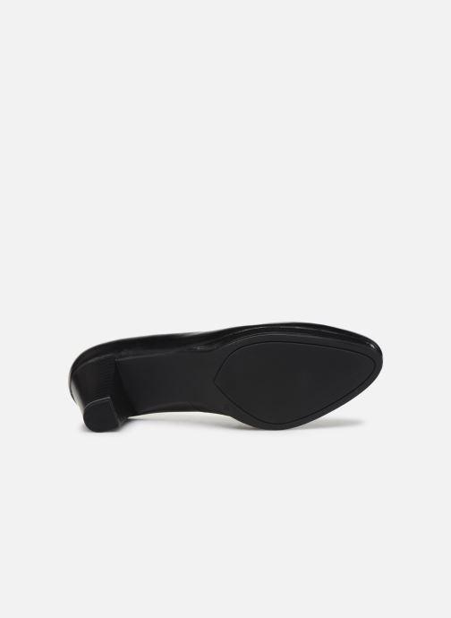 Zapatos de tacón Caprice Tanja Negro vista de arriba