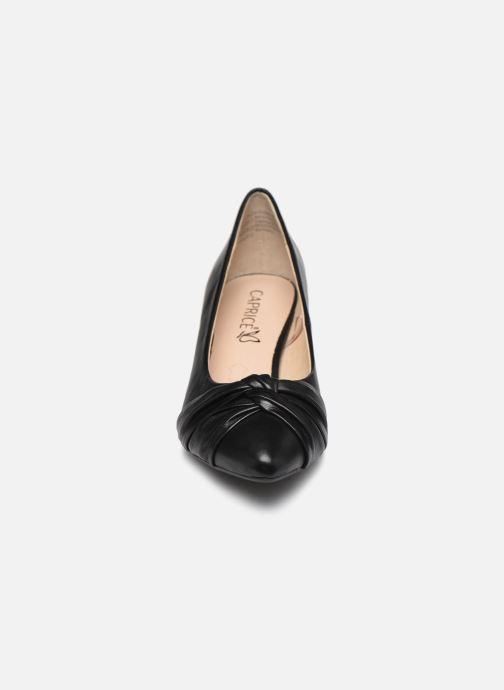 Zapatos de tacón Caprice Tiare Negro vista del modelo