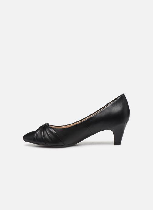 Zapatos de tacón Caprice Tiare Negro vista de frente
