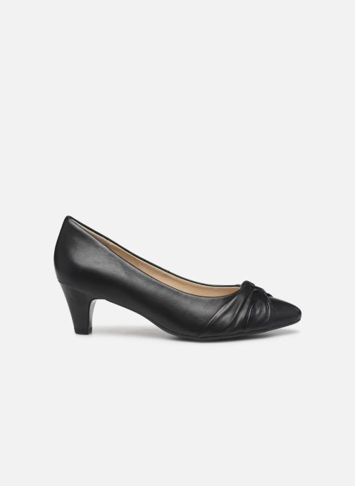 Zapatos de tacón Caprice Tiare Negro vistra trasera