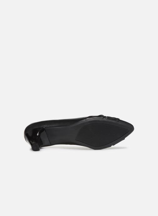 Zapatos de tacón Caprice Tiare Negro vista de arriba