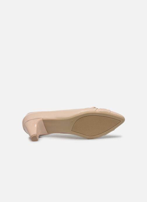 Zapatos de tacón Caprice Tiare Beige vista de arriba