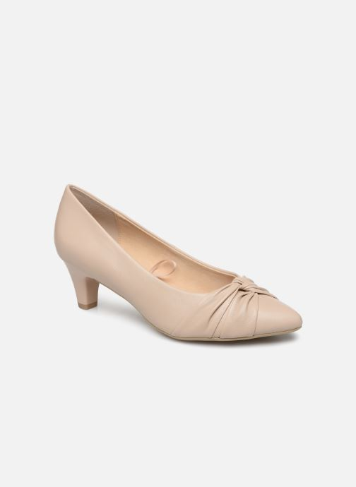 Zapatos de tacón Caprice Tiare Beige vista de detalle / par