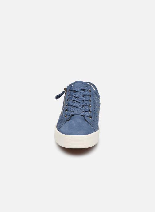 Baskets Caprice Brine Bleu vue portées chaussures