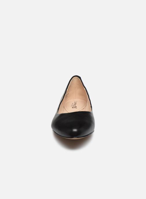 Ballerines Caprice Belita Noir vue portées chaussures