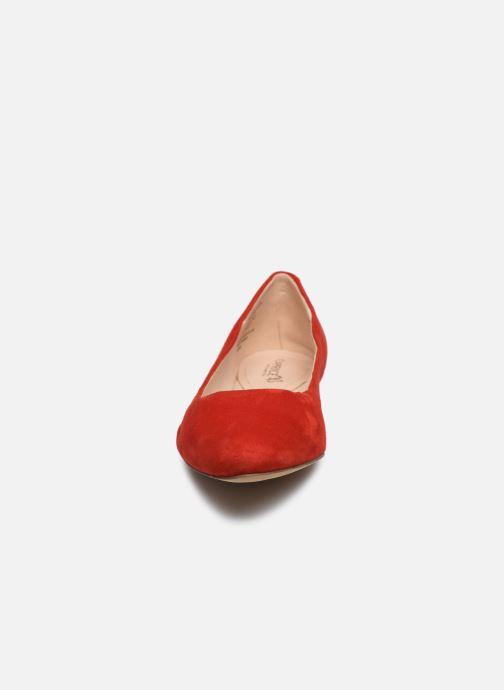 Ballerines Caprice Belita Rouge vue portées chaussures