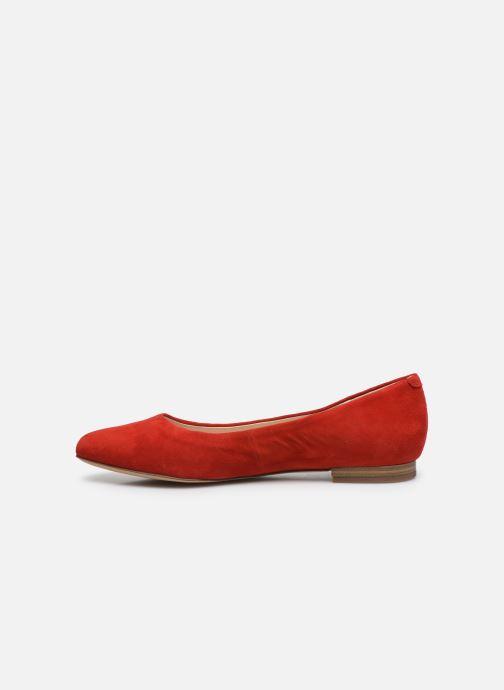 Bailarinas Caprice Belita Rojo vista de frente