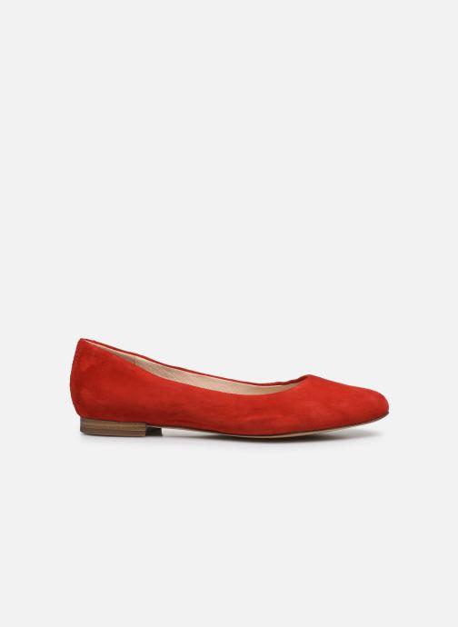Bailarinas Caprice Belita Rojo vistra trasera