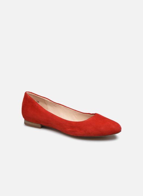 Bailarinas Caprice Belita Rojo vista de detalle / par
