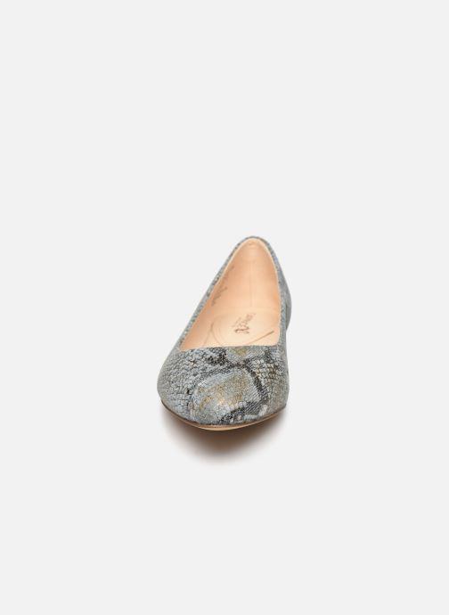 Ballerines Caprice Belita Bleu vue portées chaussures
