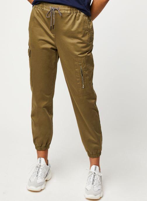 Vêtements Tommy Jeans TJW Cargo Jogger Vert vue détail/paire