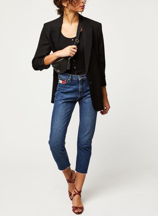 Vêtements Tommy Jeans Izzy High Rise Slim Ankle Vltdk Bleu vue bas / vue portée sac