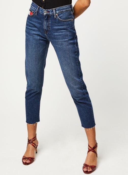 Vêtements Tommy Jeans Izzy High Rise Slim Ankle Vltdk Bleu vue détail/paire