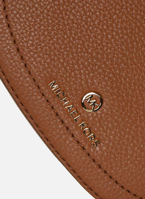 Bolsos de mano Michael Michael Kors CAMDEN SM MESSENGER Marrón vista lateral izquierda