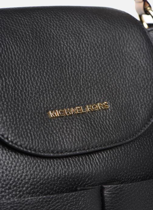 Rucksäcke Michael Michael Kors BEDFORD LG CONV BACKPACK schwarz ansicht von links