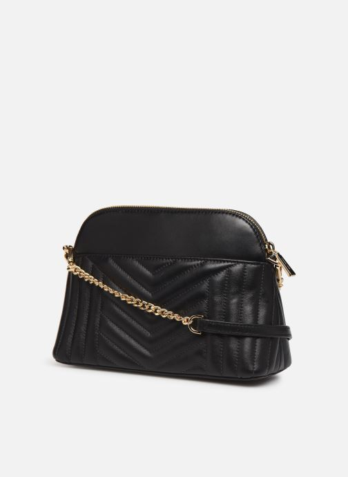 Handbags Michael Michael Kors JET SET CHARMS LG ZIP DOME CROSSBODY Black view from the right