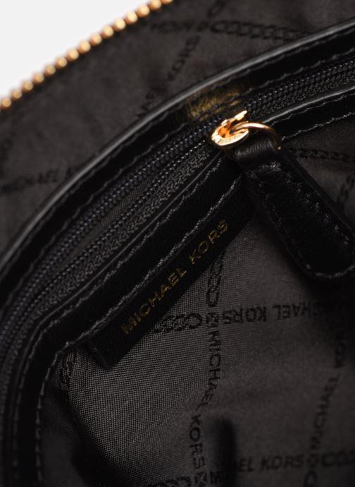 Handbags Michael Michael Kors JET SET CHARMS LG ZIP DOME CROSSBODY Black back view